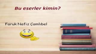Cumhuriyet Dönemi Türk Edebiyatı Eser-Yazar Tekrar