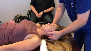 FROM THE CITY OF ANGELS - Woman's First Advanced Chiropractic Relief Adjustment