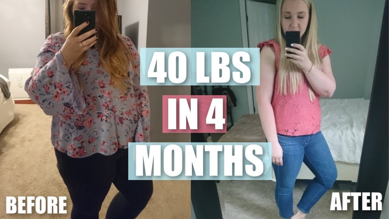 10 WEIGHT LOSS TIPS | HOW I LOST 40 LBS IN 4 MONTHS