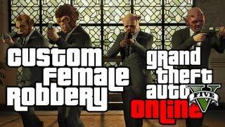 GTA V Online - Store Robbery, Customization & Last Team Standing (GTA 5 Multiplayer #1)