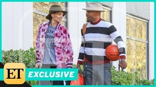 Jamie Foxx and Katie Holmes Hit the Gym Together for Valentine's Day (Exclusive)