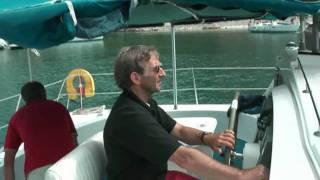 2009 Catamaran zeilen met vrienden in Griekenland