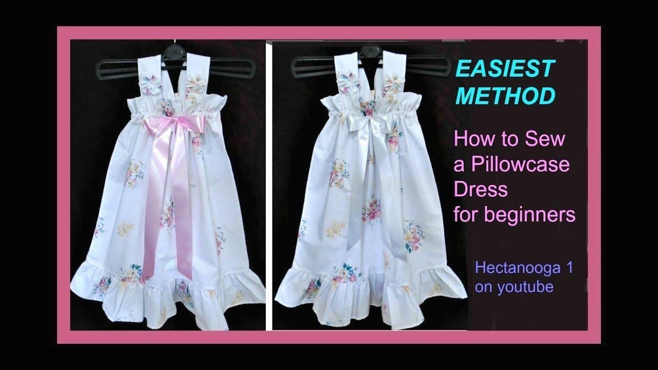 59b2374bb6 EASIEST PILLOW CASE DRESS