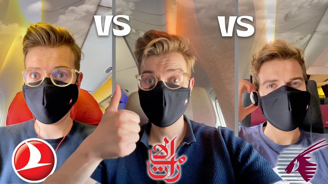 EMIRATES vs QATAR vs TURKISH Economy Class | Which Airline Is Best?!