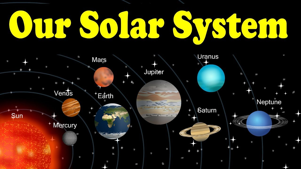 Eight Solar Picture Planets