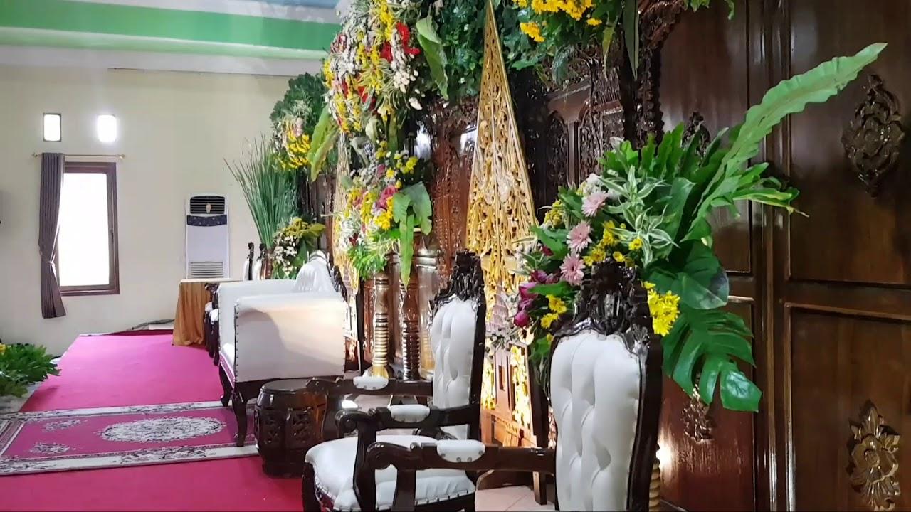 Dekorasi Pelaminan Adat Istiadat Jawa Di Wonogiri Jawa Tengah Pernikahan Tradisional Adat Jawa