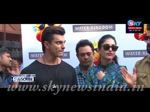 3 Dev 2nd Poster Launch At Water Kingdom (Essel World) = Sky News India