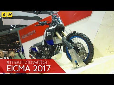 EICMA 2017 - Yamaha Ténéré 700 World Raid 2018 [ENGLISH SUB]