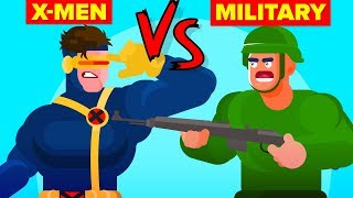 US Military vs X-Men - Who Would Win (Marvel Disney X-Men Dark Phoenix)