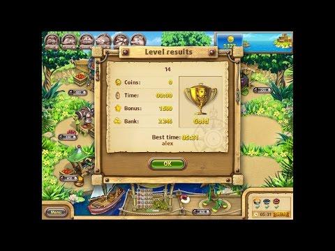 Farm Frenzy Gone Fishing Only GOLD (level 14) Веселая ферма Рыбный день (Уровень 14) Золото