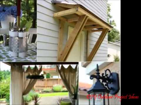 DIY Outdoor Projects Ideas - YouTube