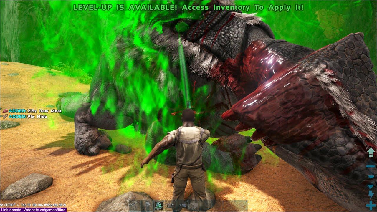 ARK: Thế Giới Mới #1 – Vùng Đất Của Các Vị Thần, Bạch Hổ Xuất Hiện ^_^