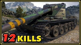 Emil I - 12 Kills - World of Tanks Gameplay