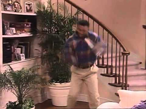 Carlton Banks bailando la canción de Tom Jones - El Príncipe de Bel Air