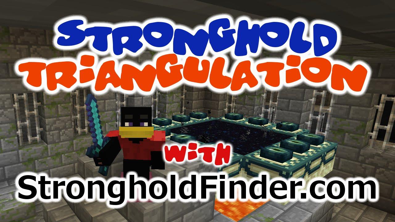 Minecraft Stronghold Finder