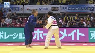 柔道グランドスラム東京 女子57kg級 準々決勝 山本杏vsT・ストール