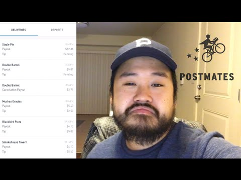 Postmates - Three Hours of Work
