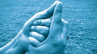 Shankh Mudra - Seashell Mudra, For Relieving throat / speech, Helps Increasing Stamina