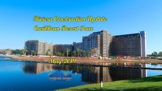 Disney's Caribbean Beach Resort - Construction, and FULL TOUR - May 2019