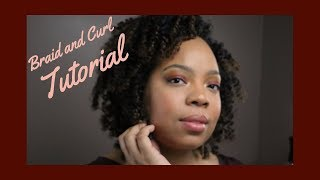Moisturized Braid and Curl