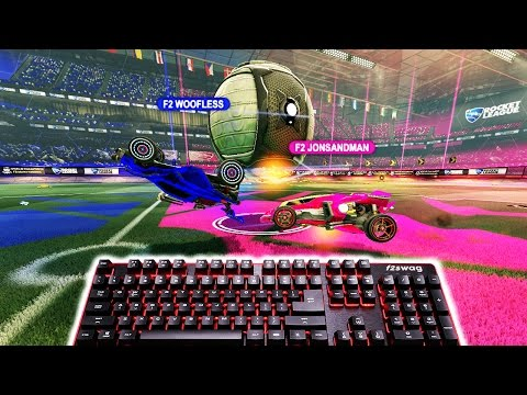 Rocket League Challenge with Keyboard and Mouse...