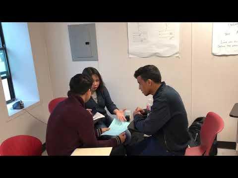 ESL High Intermediate students teaching beginners