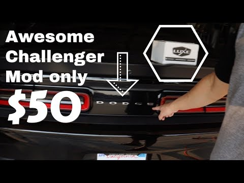 Awesome $50 Dodge Challenger Mod! How to install…