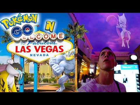 What is Pokémon Go like in Las Vegas? (Generation 2)