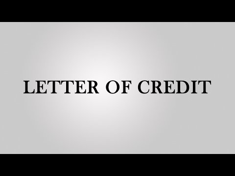 Letter of credit in Hindi