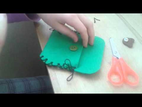 видео: Кошелек за 10 минут