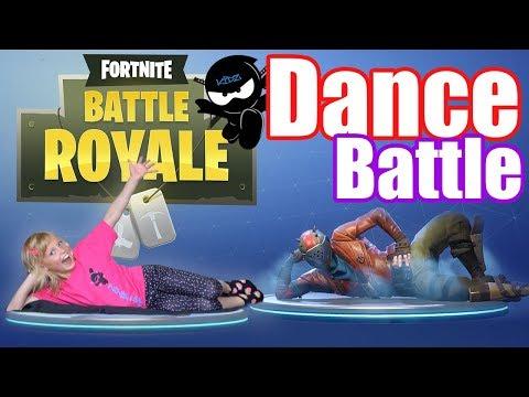 FORTNITE Dance Challenge! IN REAL LIFE | NINJA KIDZ TV