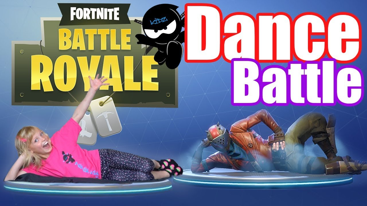 Fortnite Dance Challenge In Real Life Ninja Kidz Tv Youtube