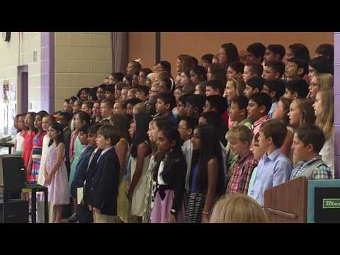 Twin Hickory Elementary School Choir 50 States