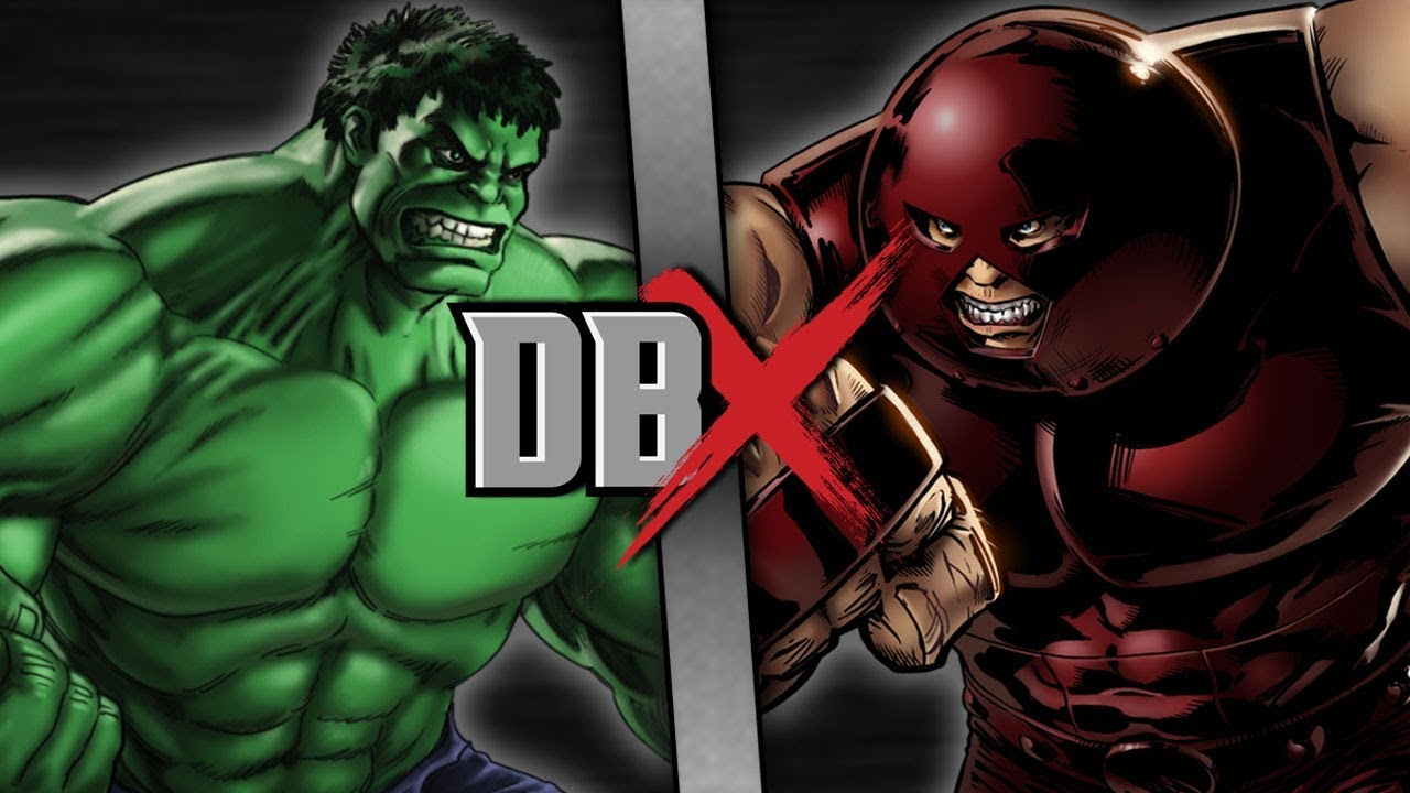 hulk vs juggernaut dbx youtube
