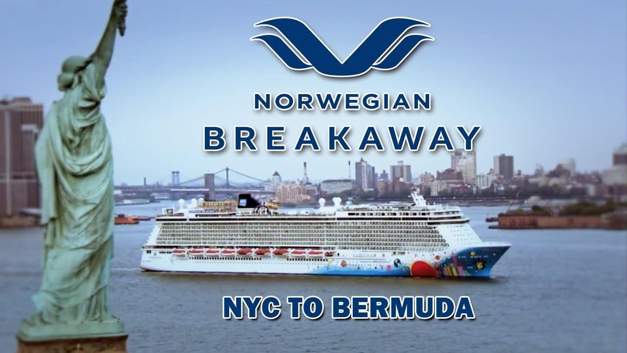 Norwegian Breakaway NYC To Bermuda YouTube - Cruise ships from nyc