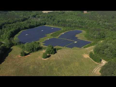 DJI Mavic 2 Pro -  A perfect day for clean energy.  Spring Hope, NC. Medium