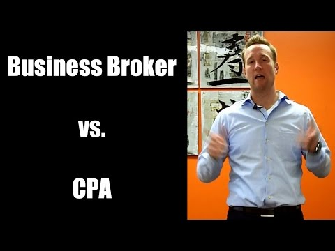 Business Broker vs. CPA