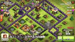 CLASH OF CLANS, MAXED VALKIRES, GOVAPE!!!1