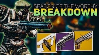 Season of the Worthy TRAILER BREAKDOWN (New Exotics, PVE Mode, Season Pass)   Destiny 2 New Season