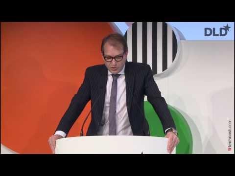Opening Keynote (Alexander Dobrindt, Federal Minister of Germany) | DLD14