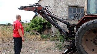 Excavator boom. tushdi off Ta'mirlash.