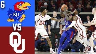 Gambar cover 2020 College Basketball #6 Kansas vs Oklahoma Highlights
