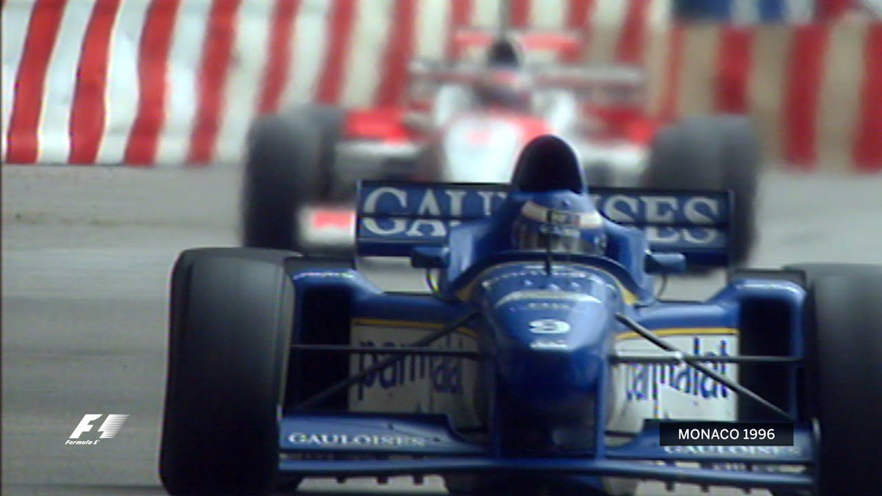 Monaco 1996: A shock win for Panis in the wet Video Thumbnail