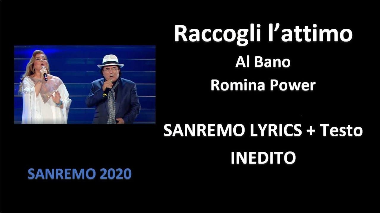 Raccogli L Attimo Albano E Romina Power Inedito Sanremo