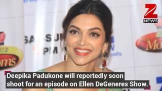Deepika Padukone on Ellen DeGeneres Show?