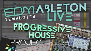 STADIUMX - HOWL AT THE MOON ABLETON LIVE REMAKE TEMPLATE PROJECT ALS PROGRESSIVE HOUSE TUTORIAL