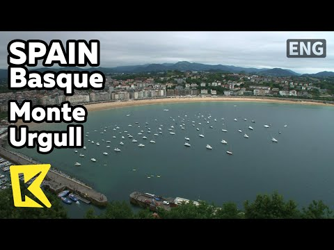 【k】spain-travel-basque[스페인-여행-바스크]우르굴-언덕-산-세바스티안-바다/monte-urgull/san-sebastian/la-concha/santa-clara