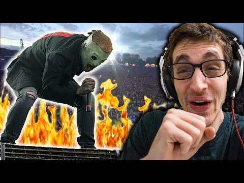 Slipknot - (Sic) [Live At Download Festival 2009] HIP HOP HEAD REACTS TO METAL!!