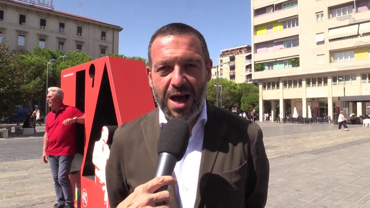 Video Festa Della Rivoluzione In Piazza Salotto Istallazione