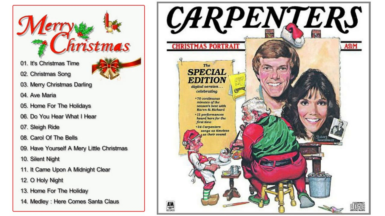 The Carpenters Greatest Christmas Songs Hits - The Carpenters ...